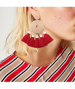 Bohemian Tassel Ethnic Earrings