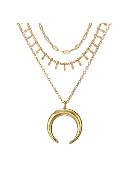 Hot Sale Moon Multilayer Necklace