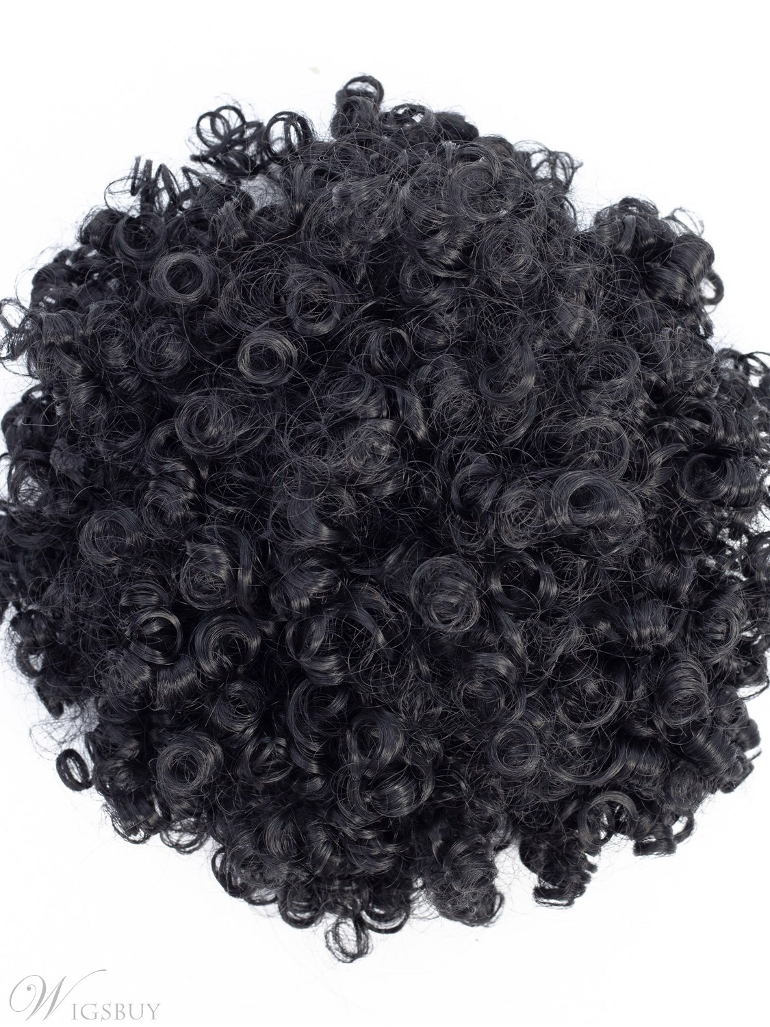 Afro Kinky Curly Synthetic Hair Drawstring Pony Hair Extensions