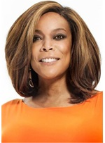 Bob Style One Side Parted Straight Hair Capless Women Wig
