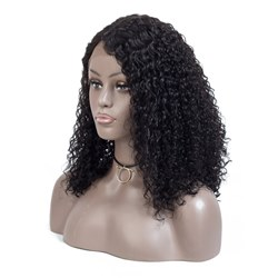 Wigsbuy Remy Human Hair Straight 360 Lace Frontal
