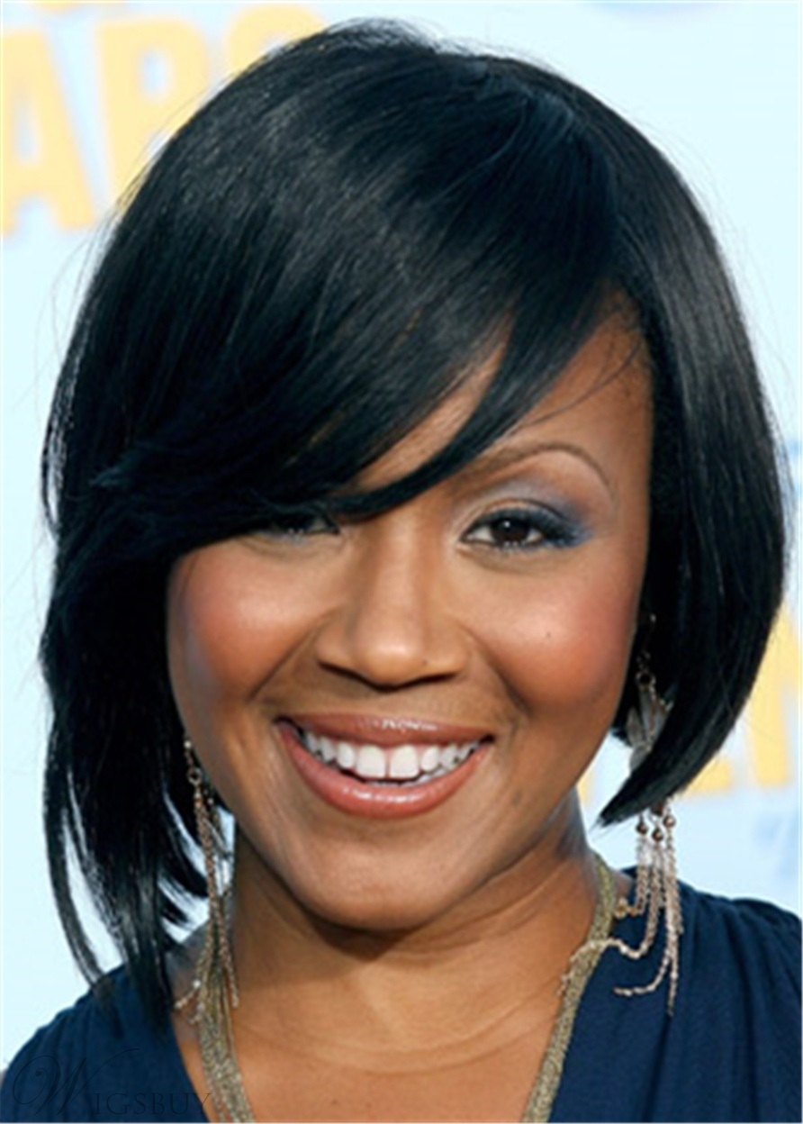 Erica Campbell Hairstyle Synthetic Straight Hair Lace Front Wig