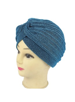 Stretch Fabric Velvet Muslim Turban