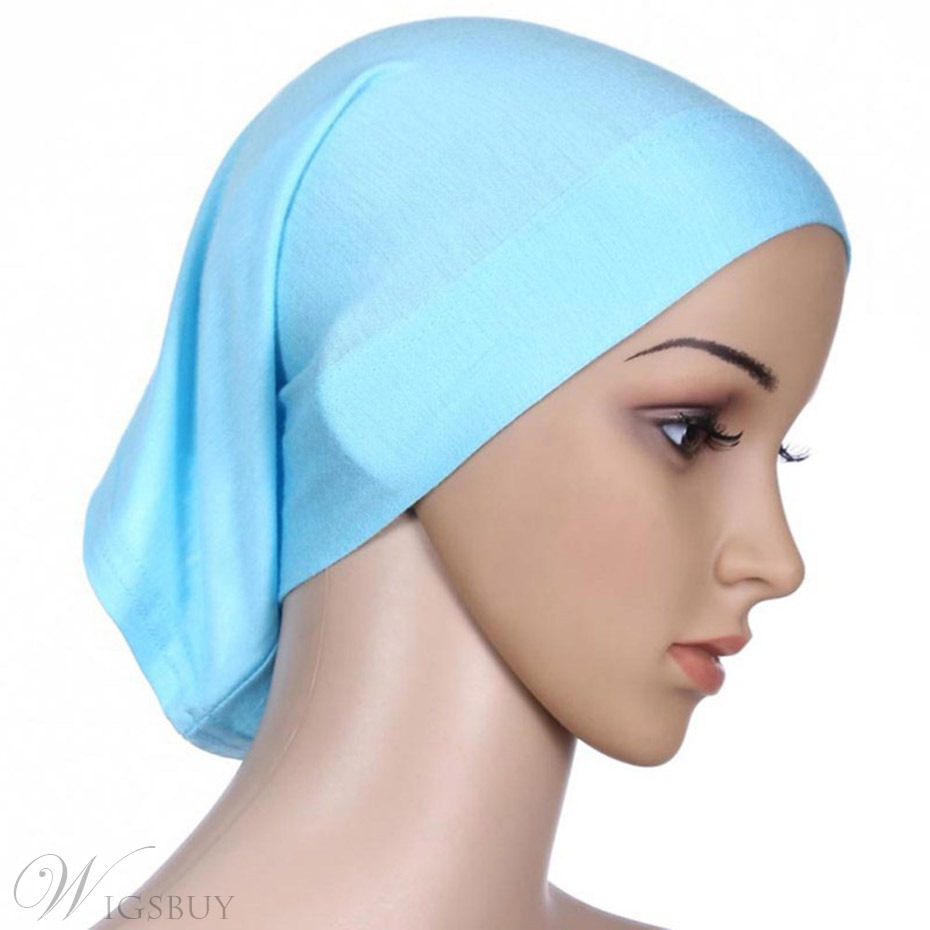 Simple Pure Color Muslim Turban