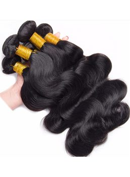 Wigsbuy 4 Bundles Brazilian Body Wave Virgin Human Hair