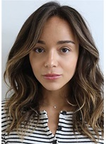 ashley madekwe perruque capless cheveux humains