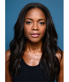 Naomie Harris Hair Type Loose wavy Human Hair Capless Wig