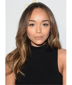 Ashley Madekwe Hair Cut Wavy Synthetic Hair Lace Front Wig