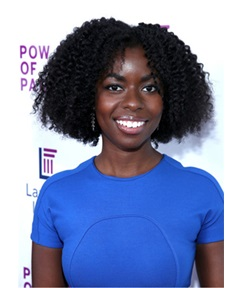 Camille Winbush Afro Curly Synthetic Hair Lace Front Wig