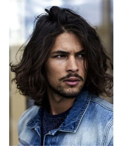 Men's Messy Natural Culry Synthetic Hair Wig
