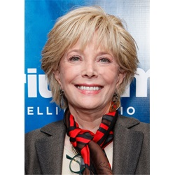 Lesley Stahl Layered Cut Synthetic Hair Lace Front Wig