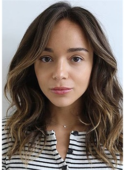 Ashley Madekwe Hair Cut WavyHuman Hair Capless Wig