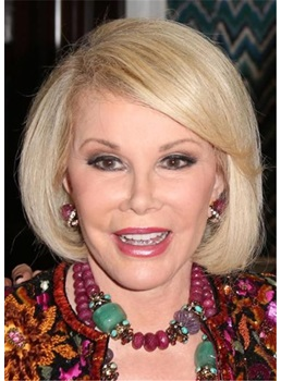 Joan Rivers Short Bob Synthetic Hair Wig
