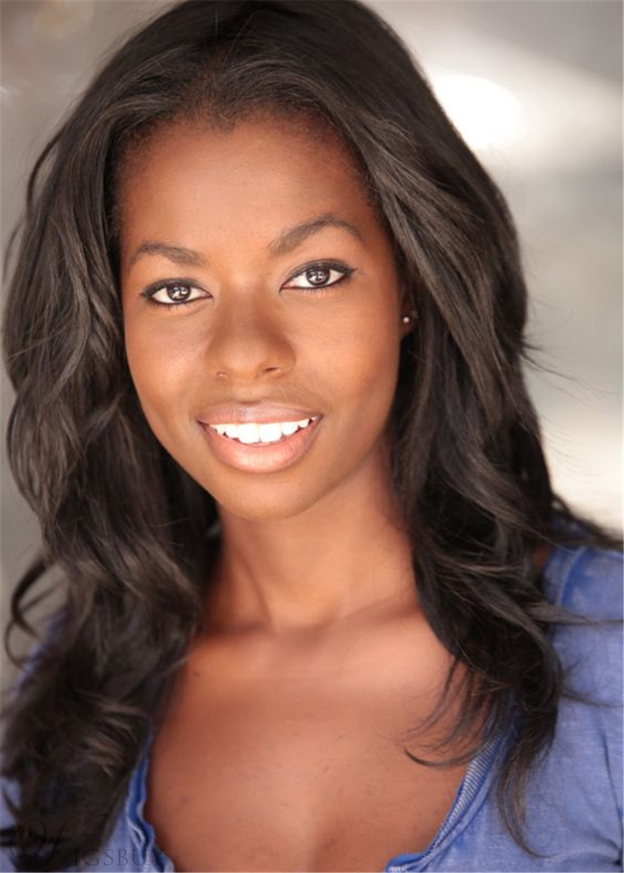 Camille Winbush Wavy Synthetic Hair Capless Wig