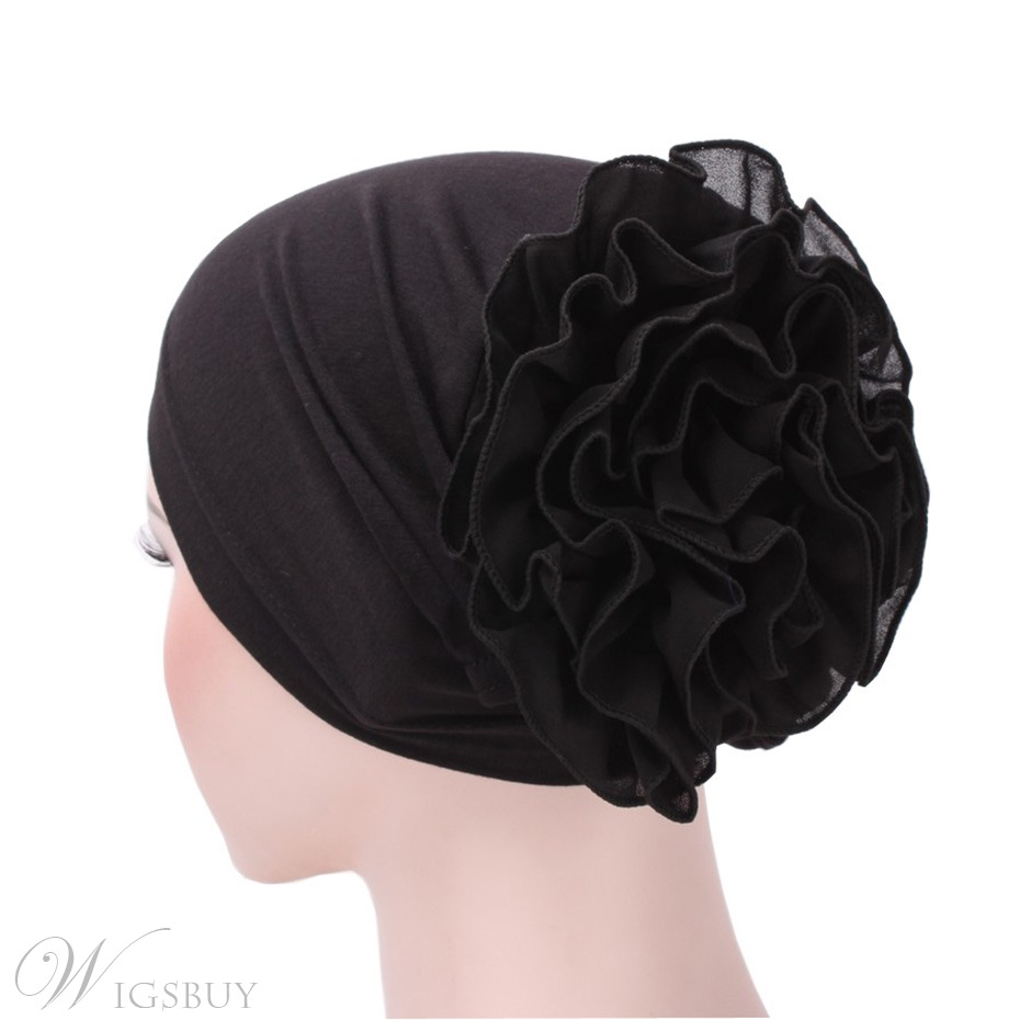 Plain Big Flower Arab Turban