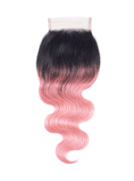 Wigsbuy Body Wave Lace Closure Pre-colored Ombre Color