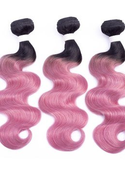 Wigsbuy Body Wave Ombre Human Hair Extensions 1 Piece