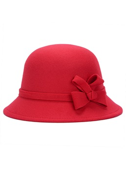 Colorful Bowknot Winter Women Hat