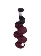 Wigsbuy T1B Bug Body Wave Human Hair Weave 10-24 Inches