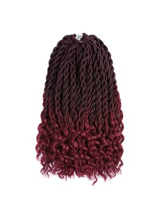 Wigsbuy Curly Ombre Braiding Hair Soft Dread Lock Hair Extensions