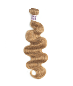 Wigsbuy Blonde 27# Human Hair Body Wave Hair Bundle 10-24 Inches