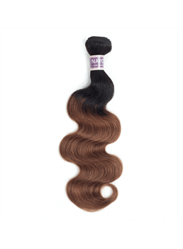Wigsbuy T1B30# Body wave Human Hair Weave 10-24 Inches