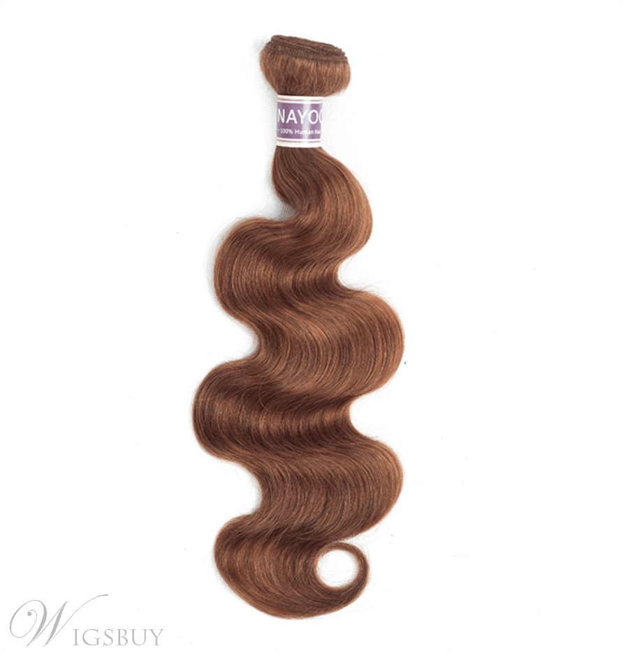 Wigsbuy 30# Human hair Body Wave Bundle