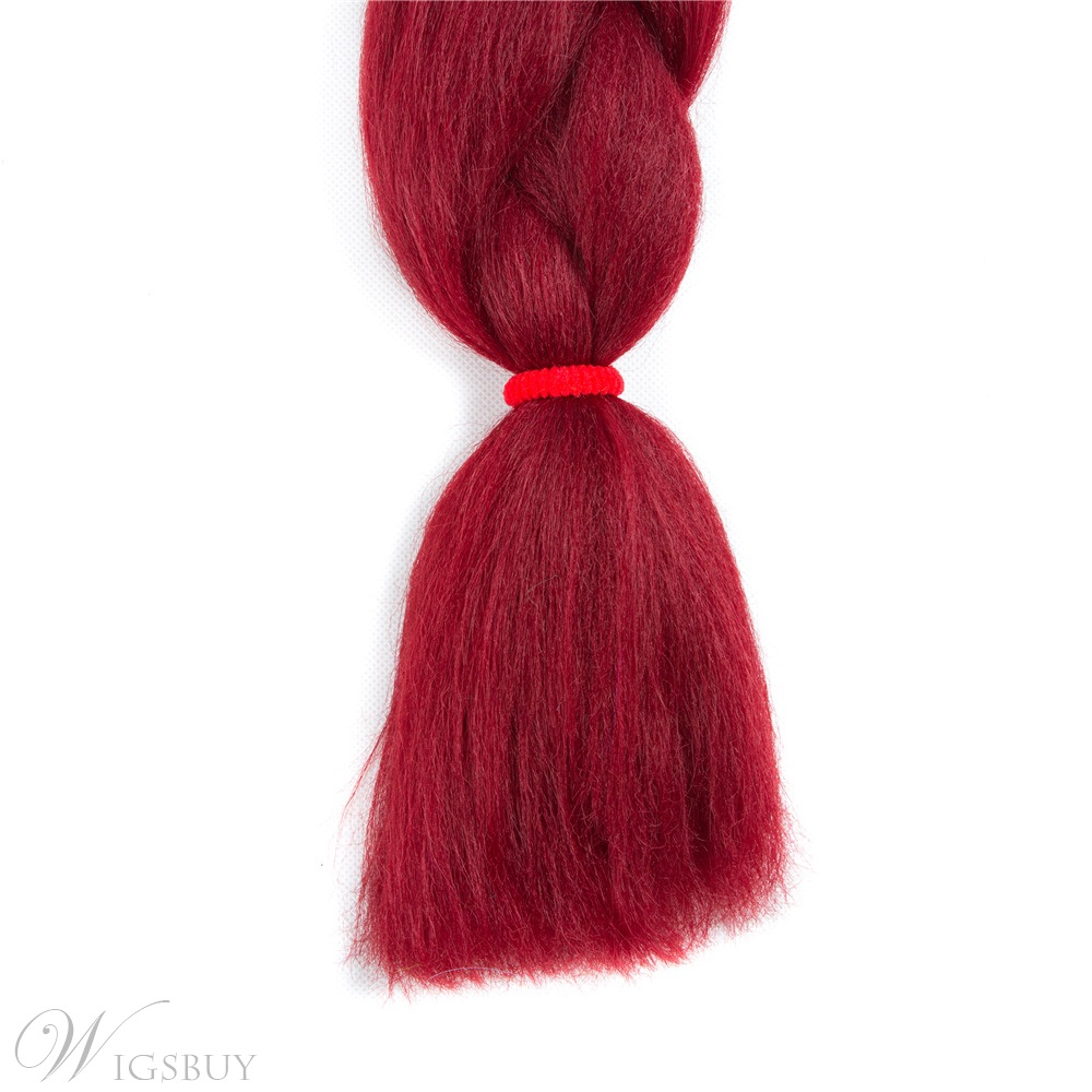 Ombre Synthetic Kanekalon Braiding Hair Crochet Braids False Hair