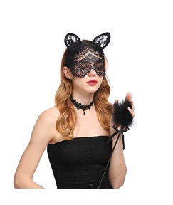 Sexy Lace Cat Veil Hair Band