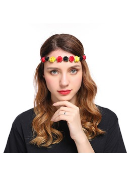 Sweet Lady Garland Hair Accessories