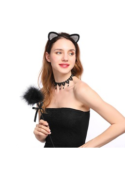Sexy Diamante Cat Eye Hair Accessories