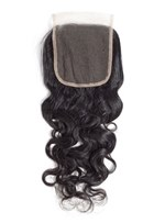 Wigsbuy Water Wave Remy Human Hair 4x4 Swiss Lace Closure