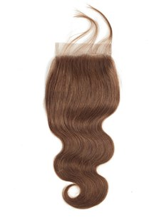 Wigsbuy #4 Lace Closure Body Wave Human Hair 4 x 4 Closure With Baby Hair