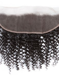 Wigsbuy Kinky Curly Hair 13x4 Frontal 8-18 Inches