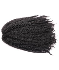 Afro Kinky Crochet Twist Braids Synthetic Fiber Hair Extensions