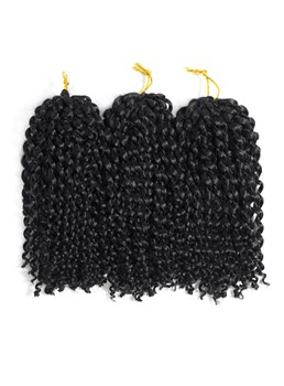 Marlybob Crochet Braids Kinky Curly Twist Synthetic Afro Kinky Crochet Braids Twist Hair