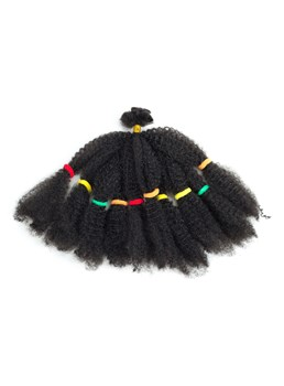 Crochet Braid Hair Afro verworrene lockige Twist Marley Synthetic Braiding Hair