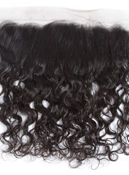 Wigsbuy Remy Pre Plucked Lace Frontal Water Wave 13x4 Free Part
