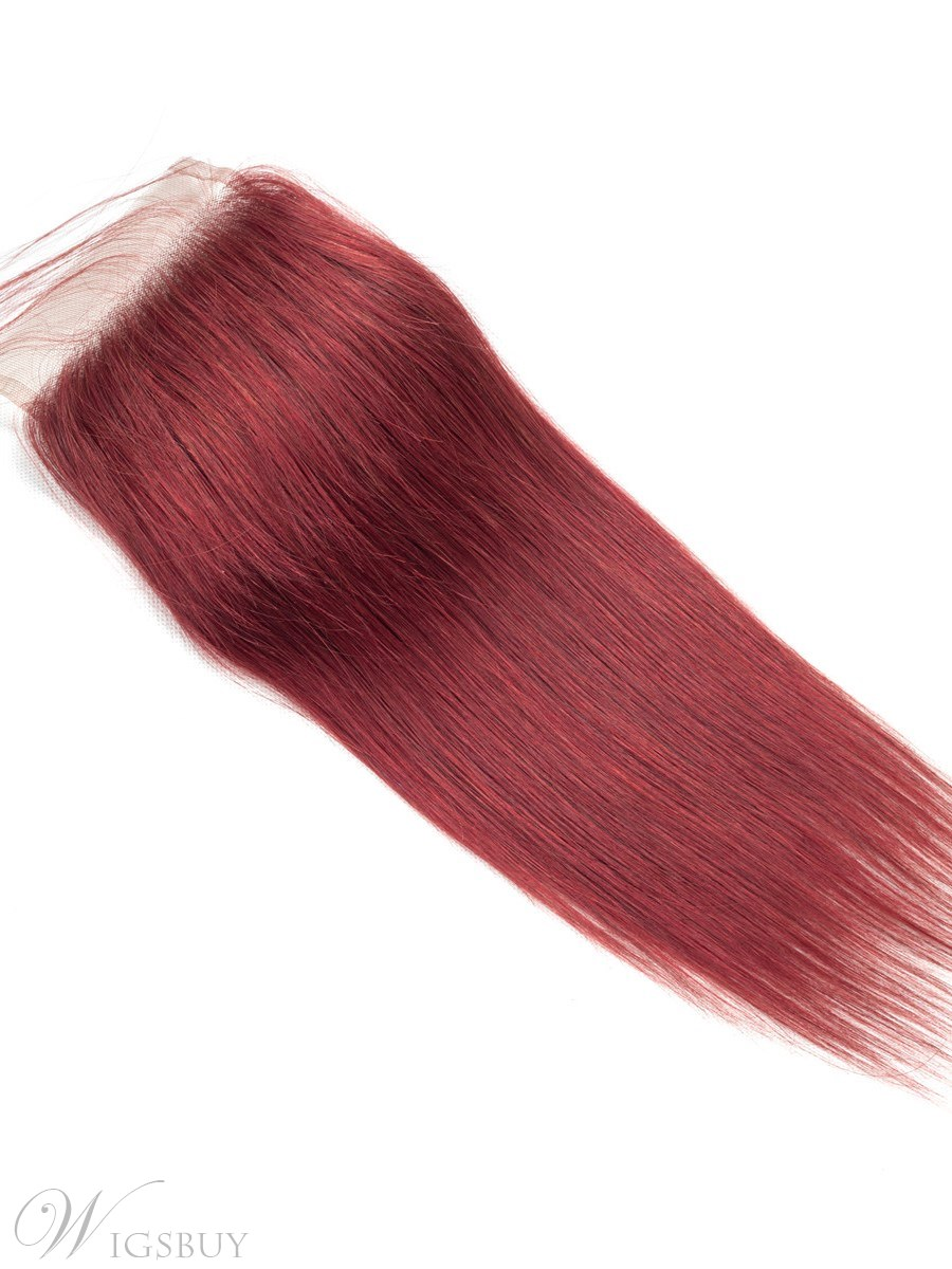 Wigsbuy Straight #33 Human Hair Closure With Baby Hair