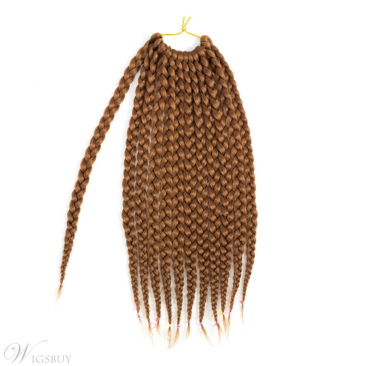 Braiding Hair Extensions Synthetic Crochet Twist Box Braids Hair Weaving 14 Inches/pcs