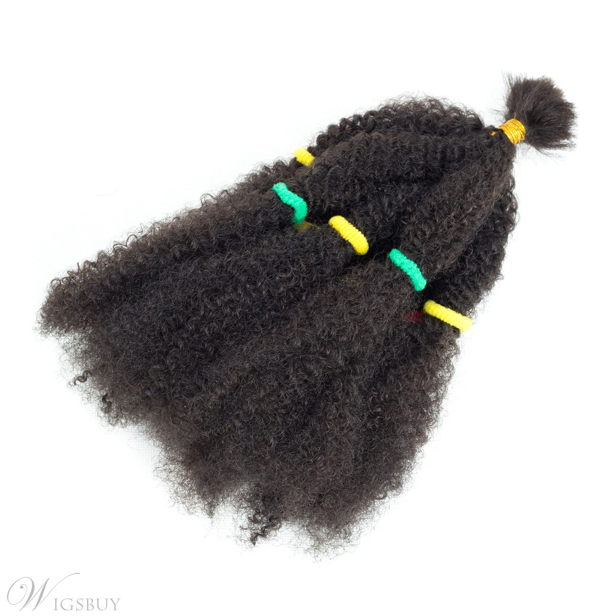 Crochet Braid Hair Afro Kinky Curly Twist Marley Synthetic Braiding Hair