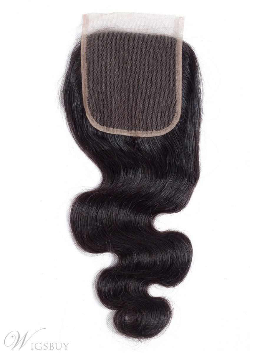 Wigsbuy Body Wave Remy Hair Closure 4*4 Free Part