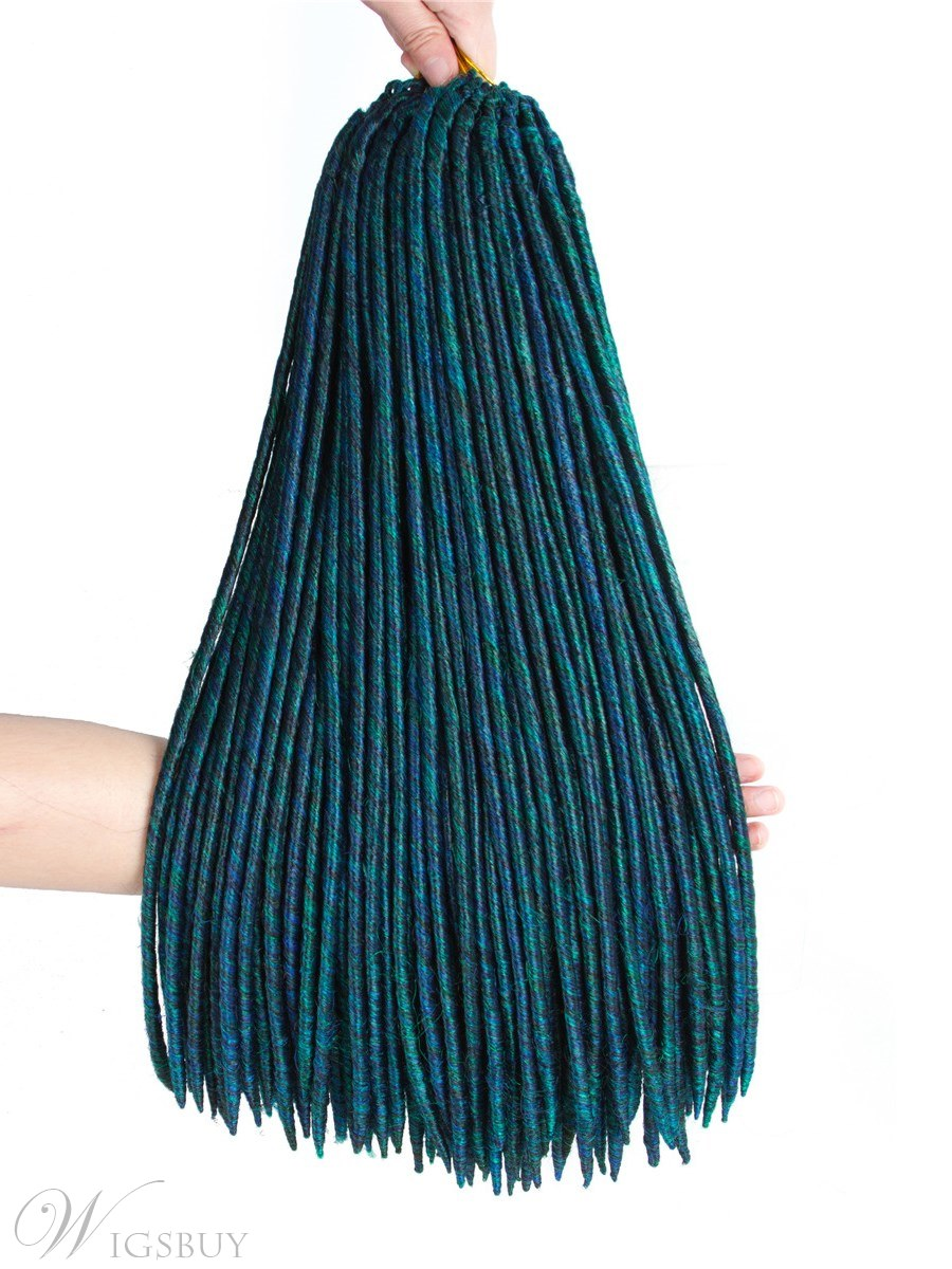 Kanekalon Crochet Braids Synthetic Braiding Hair Extension