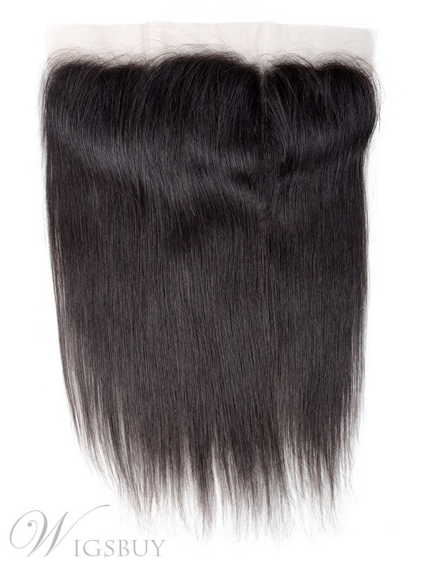 Brazilian Human Hair Straight Hair Lace Frontal 13x4 Swiss Lace Ear To Ear