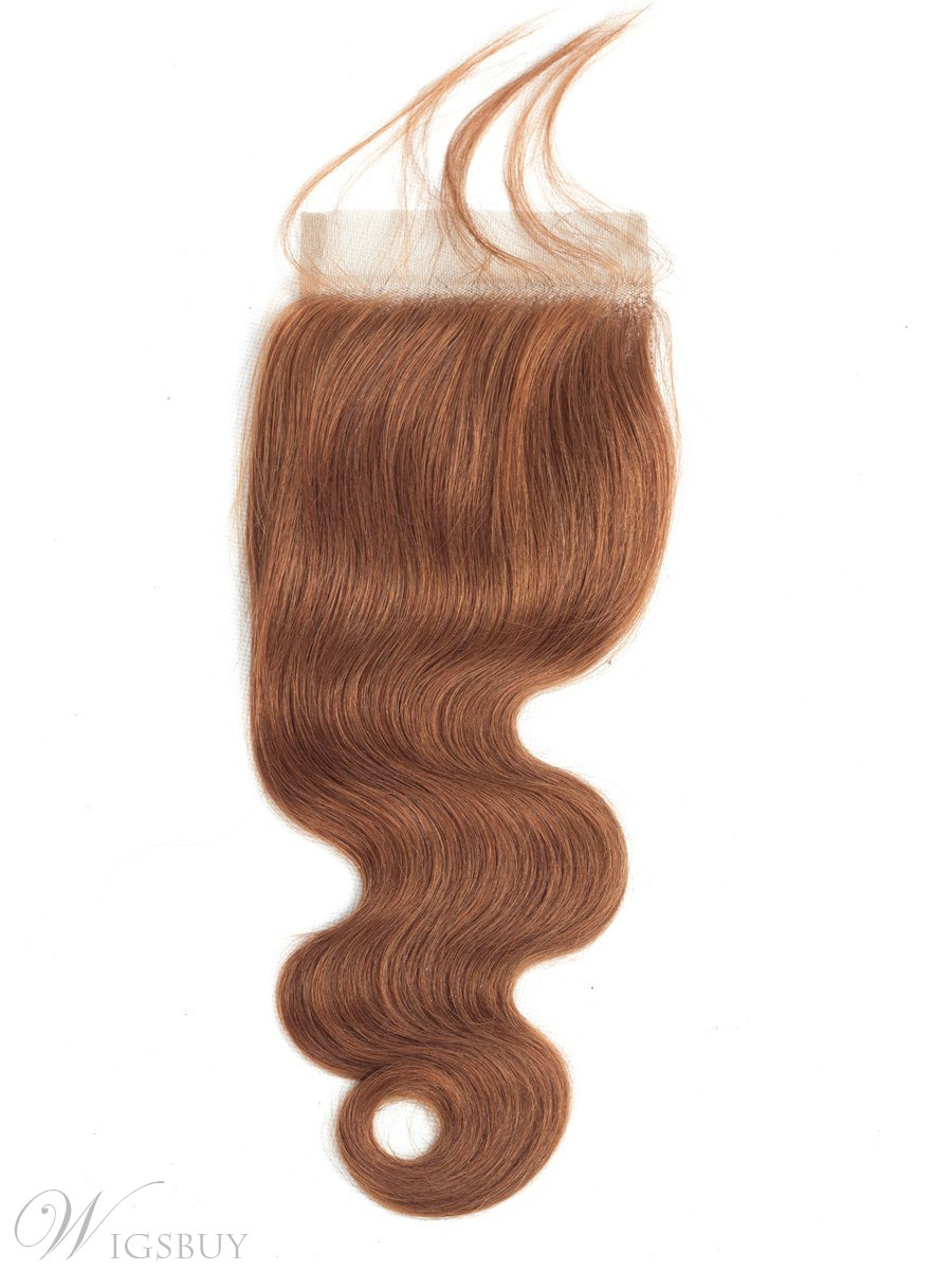 Wigsbuy Blonde Free Part Closure 4*4 Swiss Lace Closure With Baby Hair