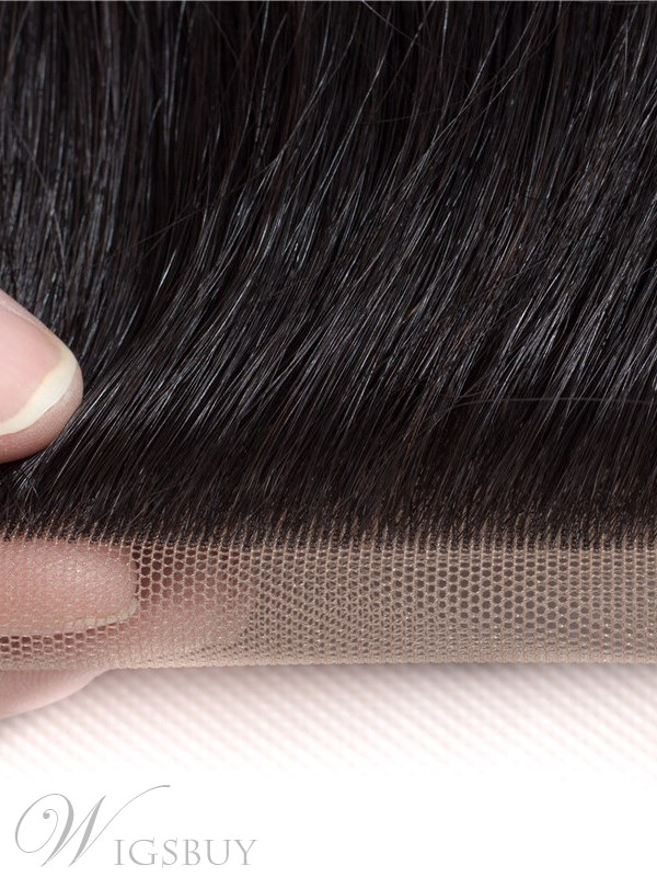 Wigsbuy Straight Remy Human Hair Free Part Lace Closure