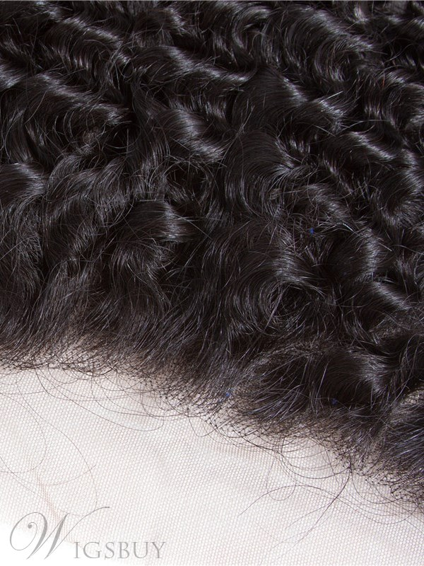 Wigsbuy Human Hair Deep Wave 13*4 Lace Frontal 8-18 Inches