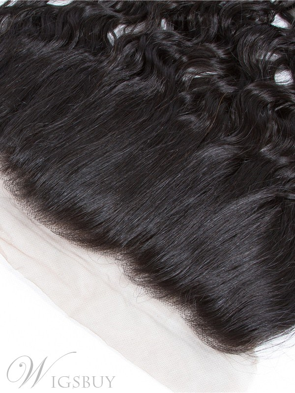 Wigsbuy Human Hair 13x4 Lace Frontal Water Wave Ear to Ear Pre Plucked Frontal