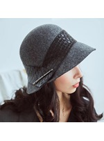 Leather Sexy Women Hat