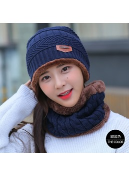 Winter Warm Women Hat Set